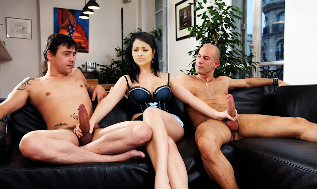 Trisha handjob producer and director cock on couch audition