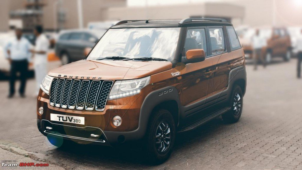 New Mahindra Tuv300 Transformation Is Just Amazing