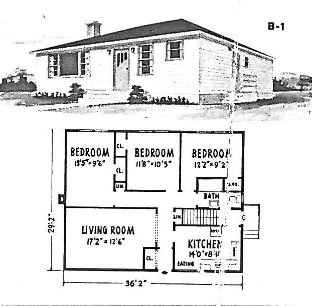 MidCentury Modern and 1970sEra Ottawa June 2011 – Wartime House Floor Plans