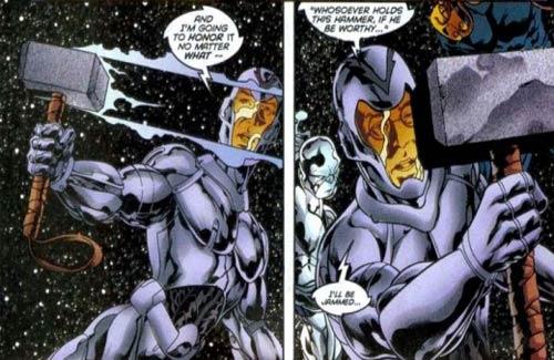 spiderman terbaru 8 Tokoh Superhero yang Bisa Mengangkat Palu Thor