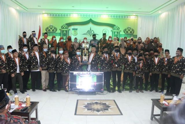 Benhur Tomi Mano Bersyukur Kota Jayapura Juara Umum MTQ XXVIII Papua