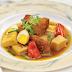 Cách nấu thịt quay kho măng cho bữa cơm gia đình thêm đầm ấm
