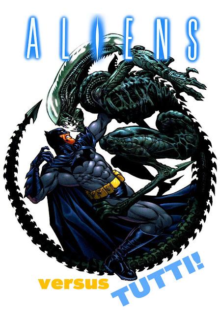 Aliens crossover fumetti
