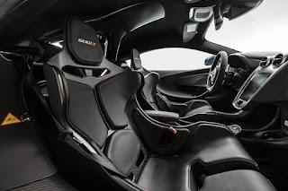 McLaren 600LT in Stealth Grey by MSO (2019) Interior