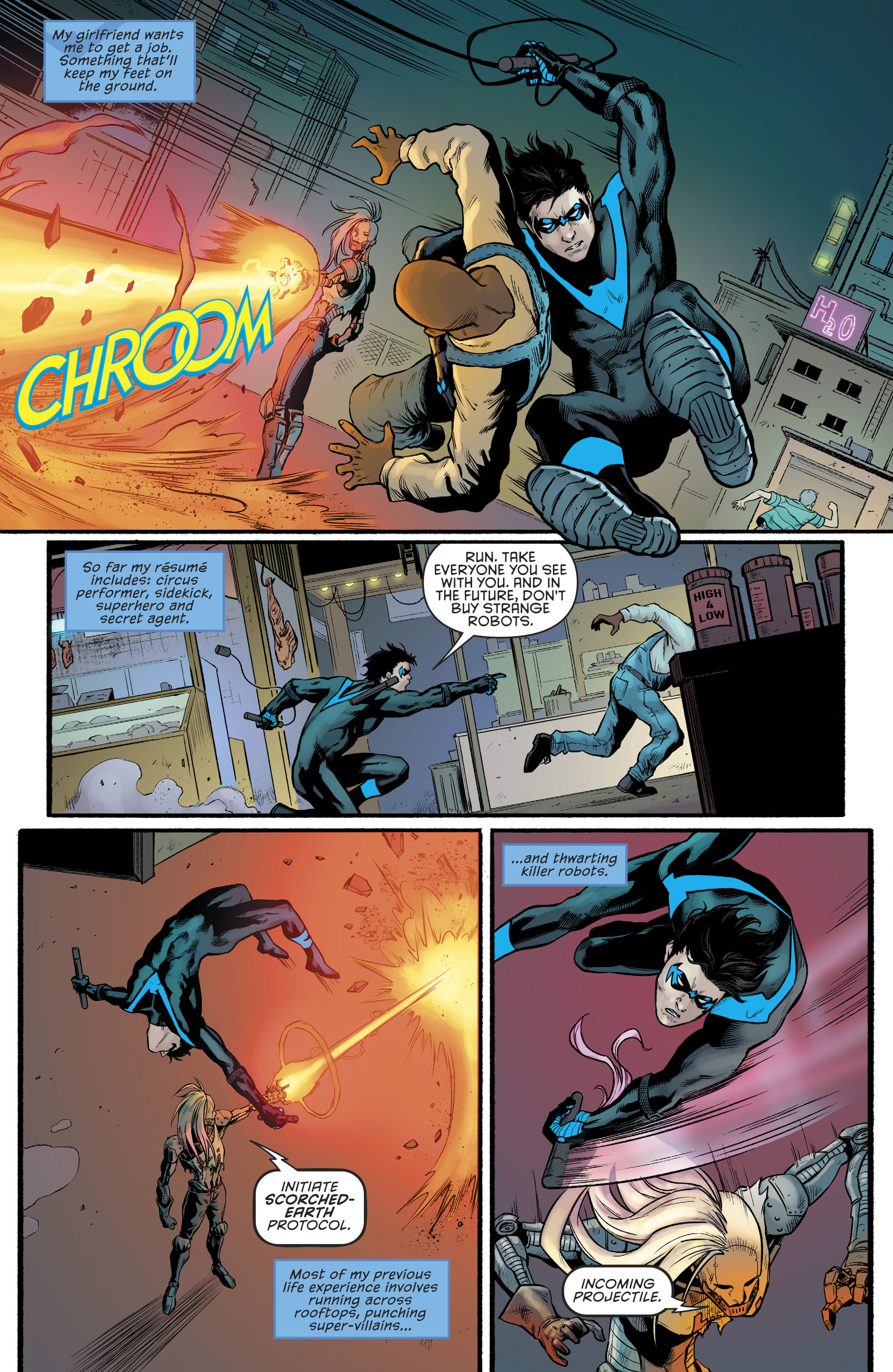 Read online Nightwing (2016) comic -  Issue #23 - 10