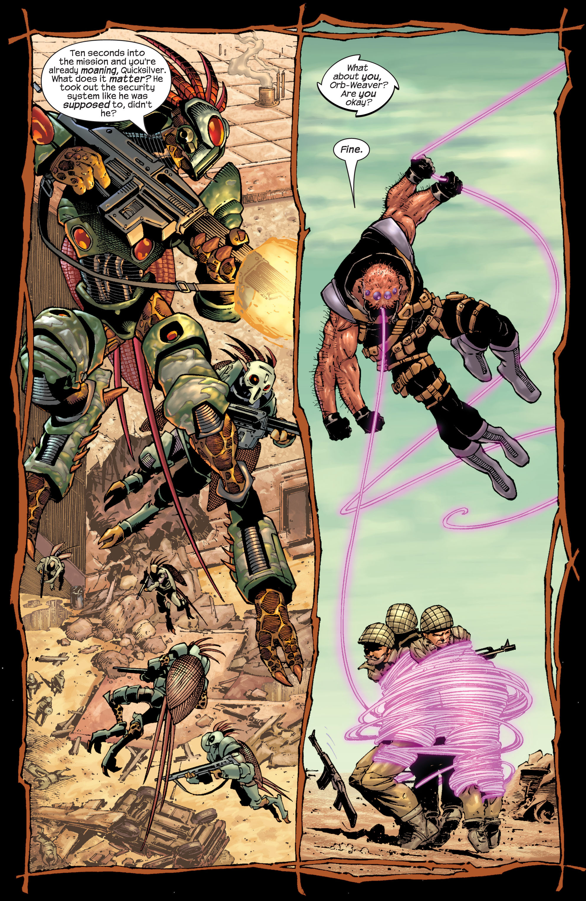 Read online Ultimate X-Men comic -  Issue #22 - 5