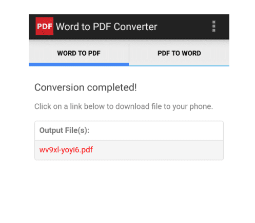 Hasil convert PDF