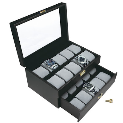 Shop Nile Corp Wholesale Premium Leatherette Watch Case  with Lock