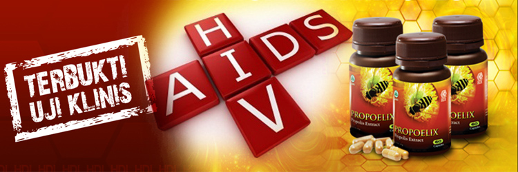 Propoelix Adjuvant Therapy HIV/AIDS