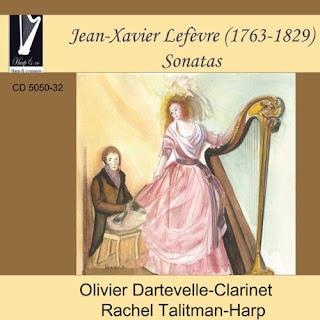 Jean-Xavier Lefèvre (1763-1829) - Clarinet Sonatas