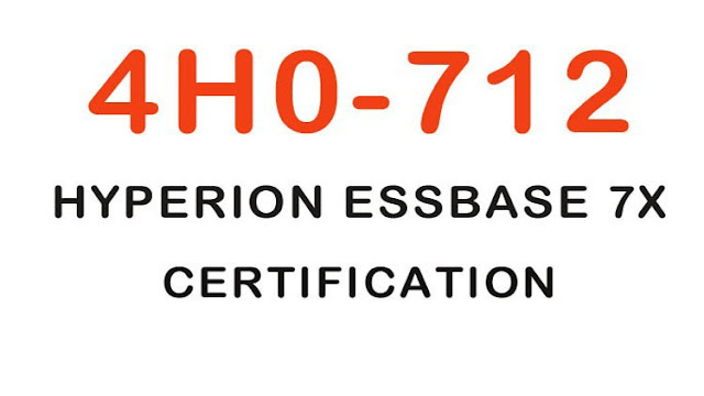 4H0-712 Hyperion ESS Base 7X Certification Practice Test