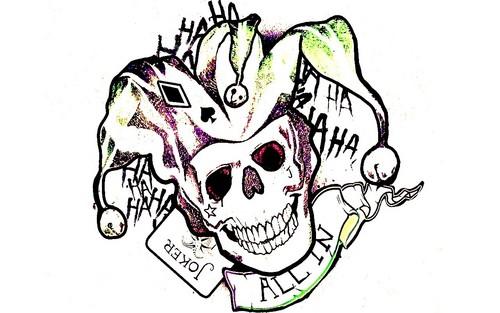 Girl Joker Tattoo Designs