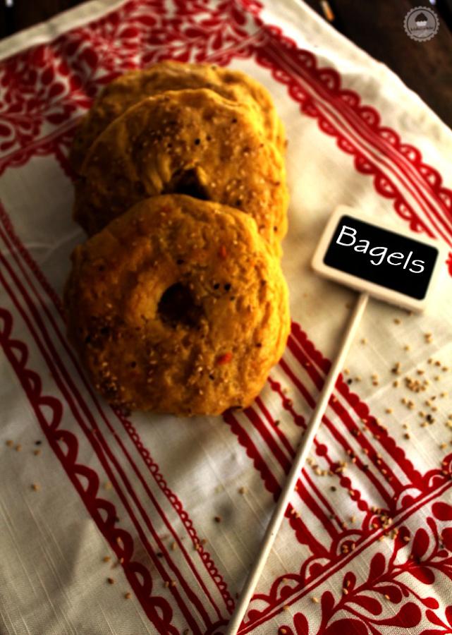 orange ginger bagels 1