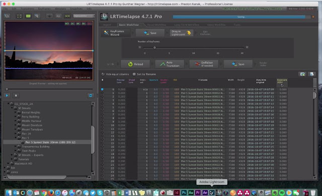 How to Media Manage Your Timelapse Footage