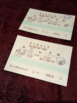 Shinkansen Reserved Card Ticket