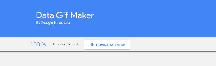 Google Data Gif Maker 簡單自製更有吸引力的數據比較動畫圖