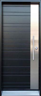model pintu minimalis sederhana