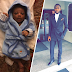 Photo of Ubi Franklin and his son