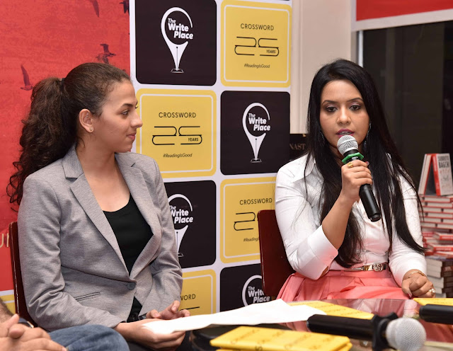 Ten Dollar Bride - Sanya Runwal and Amruta Fadnavis at Crossword Bookstores
