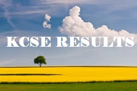 KCSE RESULTS 2016/2017