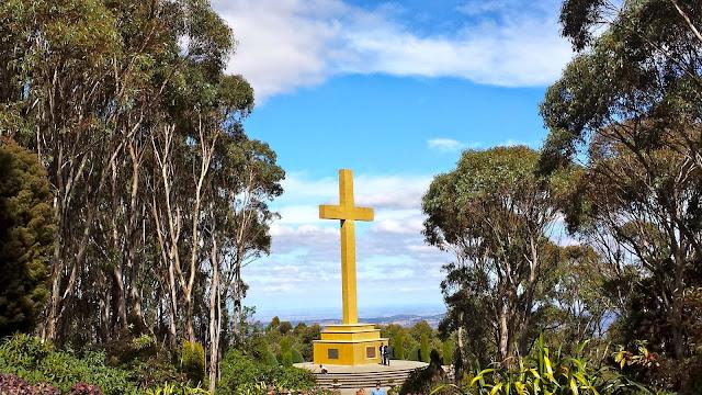 Memorial Cross, Mt Macedon