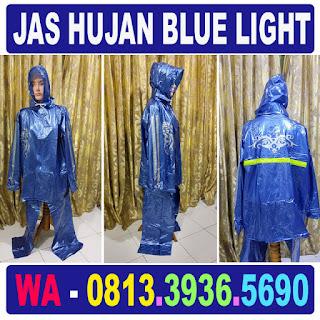 Jual Jas Hujan Blue Light Jaket Celana Grosir