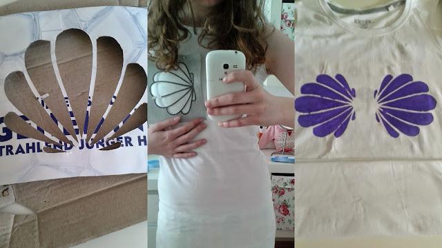 Lichtstaubmelodie Arielle Kostüm Shirt