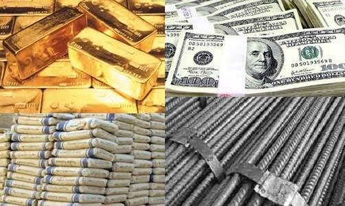 أسعار الحديد ,أسعار الدولار ,أسعار الذهب ,الاقتصاد في مصر