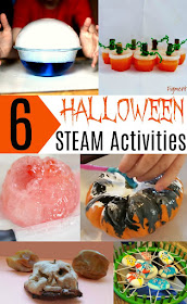 Halloween STEAM Activities for Kids