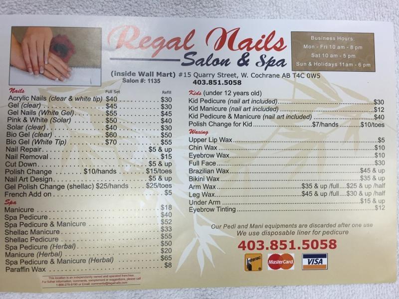 Beyond Nail Spa Prices