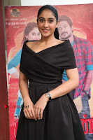 Actress Regina Candra Pos in Beautiful Black Short Dress at Saravanan Irukka Bayamaen Tamil Movie Press Meet  0033.jpg