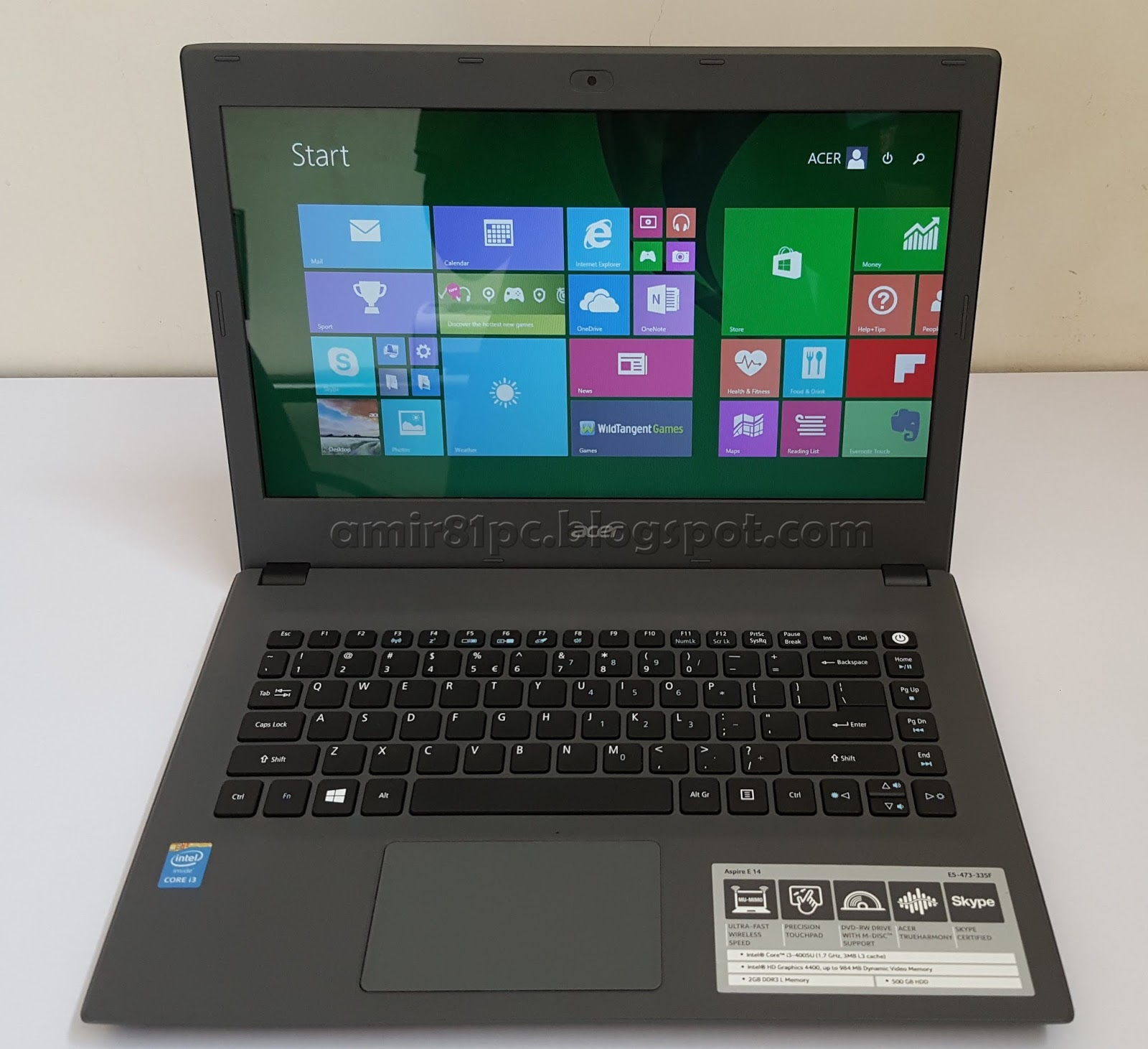 Three A Tech Computer Sales And Services Used Laptop Acer