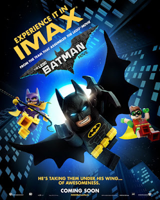 The LEGO Batman Movie IMAX Theatrical One Sheet Teaser Movie Poster