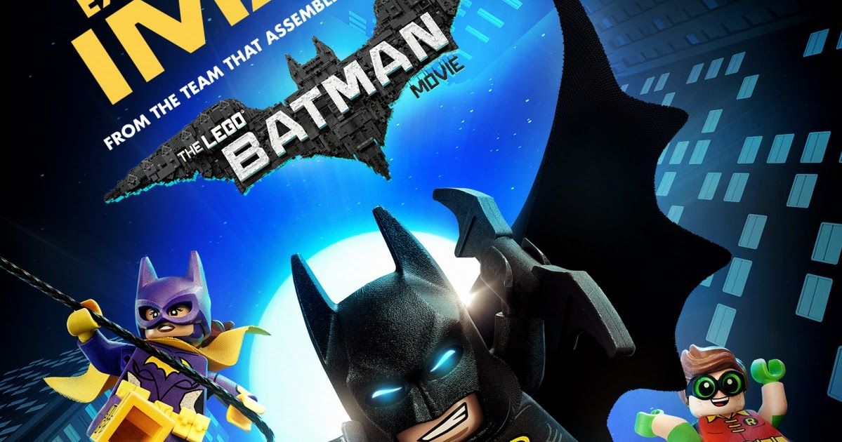 The Blot Says...: The LEGO Batman Movie IMAX Teaser Poster