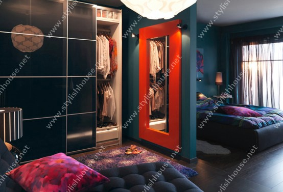 Stylish wardrobe design  for your stylish home