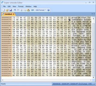 Super Unicode Editor 3.01 Full Version
