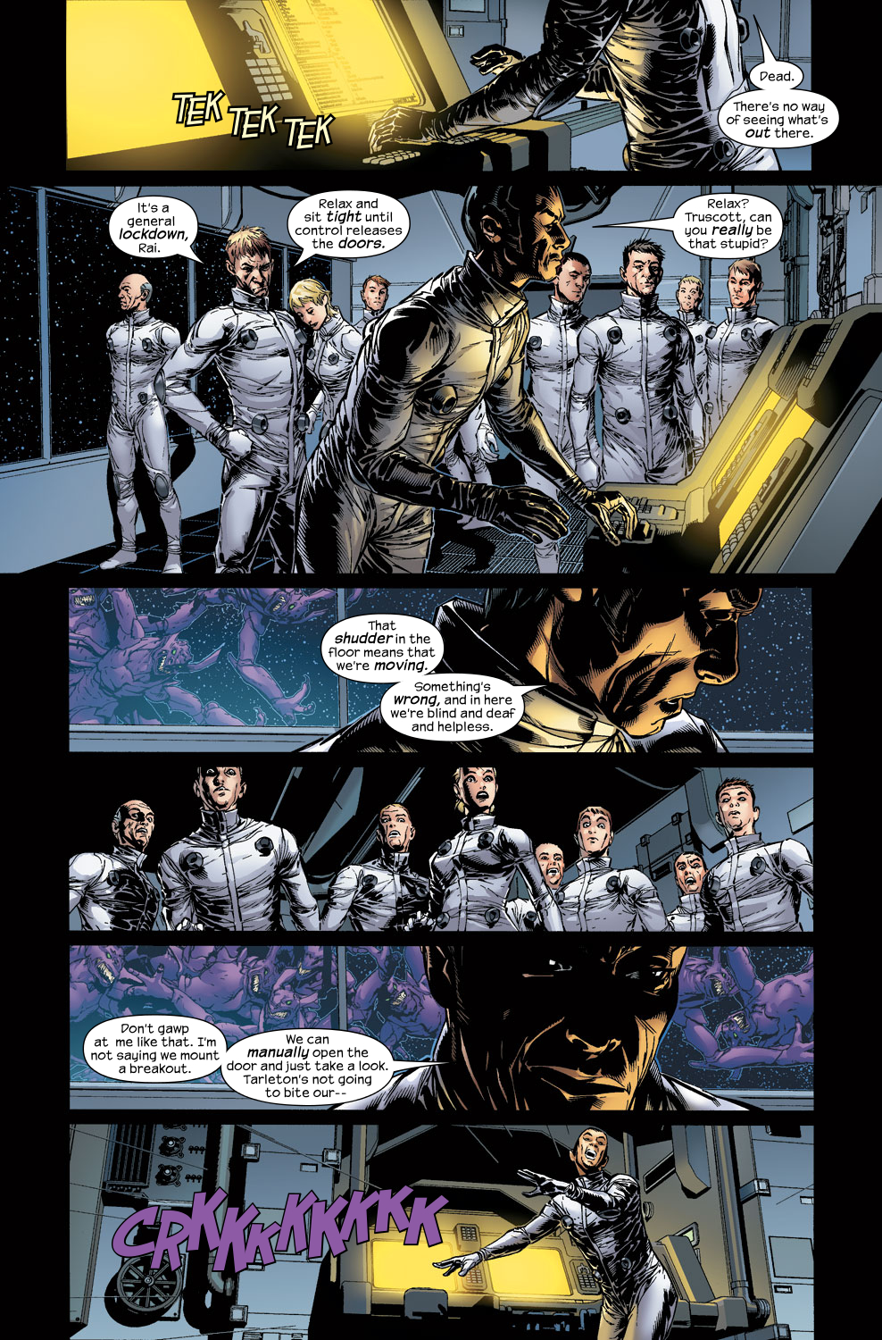 Read online Ultimate Vision comic -  Issue #3 - 7