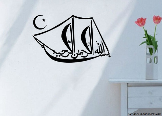 Ide Dekorasi Kaligrafi Islami Untuk Rumah Minimalis 100 Rumah