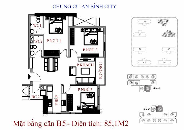 Căn B5 An Bình City
