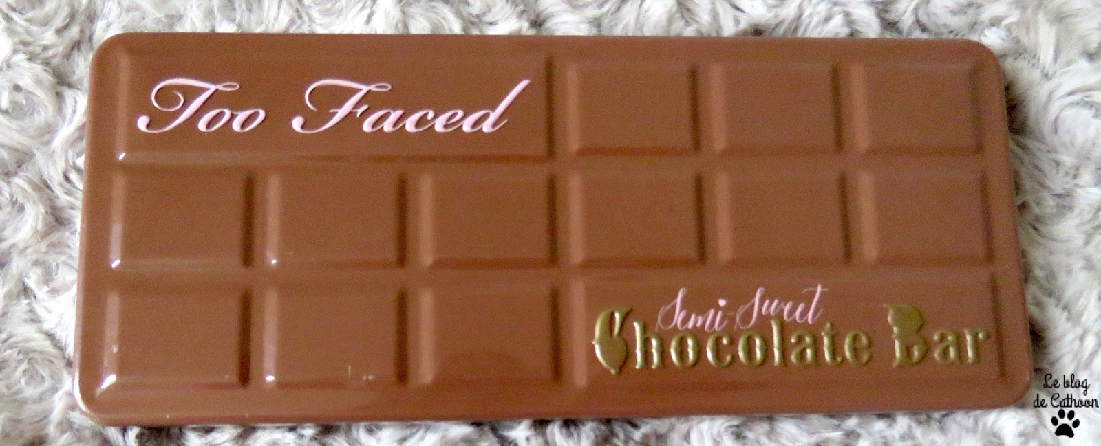 Semi-Sweet Chocolate Bar - Too Faced