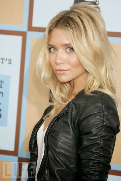 Ashley Olsen - lover her style & her hair. Hmmm wonder if I could pull off this color.
