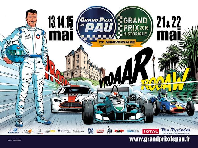75eme Grand Prix de Pau 2016