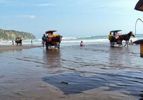 Pantai Parangtritis merupakan salah satu destinasi wisata pantai yang cukup terkenal di Yog Pantai Parangtritis Yogyakarta, Wisata Pantai Yang Penuh Pengan Mitos