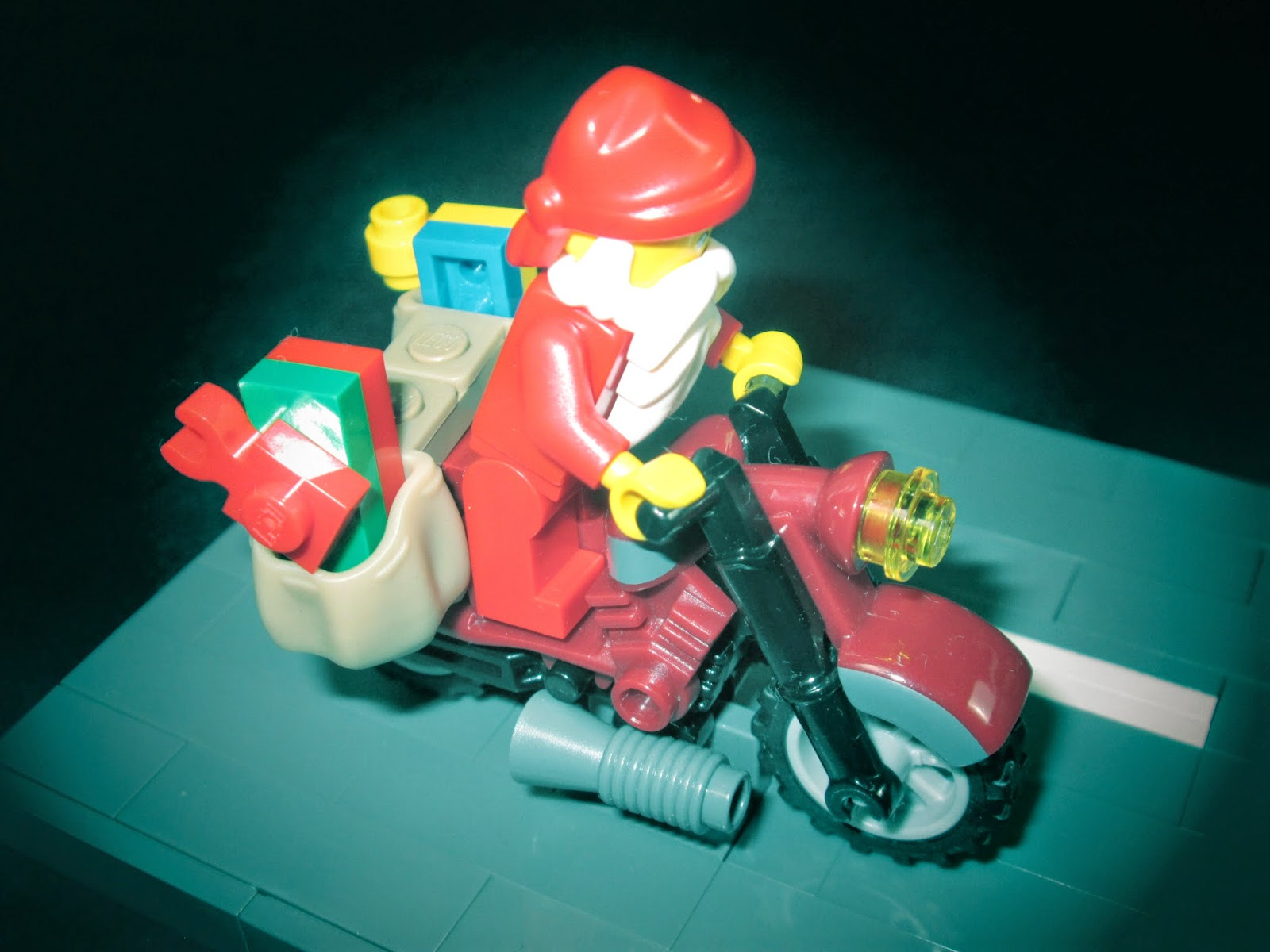 MOC LEGO entregas expresso Pai Natal