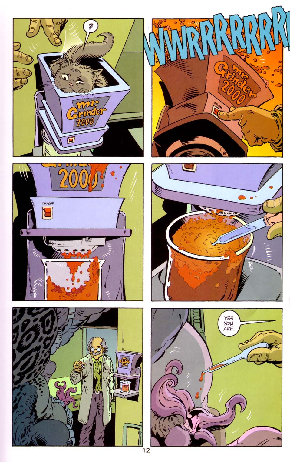 Read online Merv Pumpkinhead, Agent of D.R.E.A.M. comic -  Issue # Full - 13