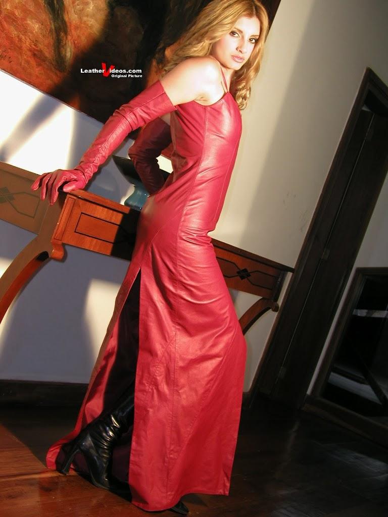 Leather Leather Leather Blog Leathervideos Pink Leather Dress