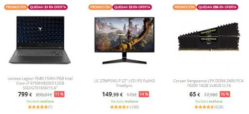 chollos-pccomponentes-10-nuevas-ofertas-gaming-days