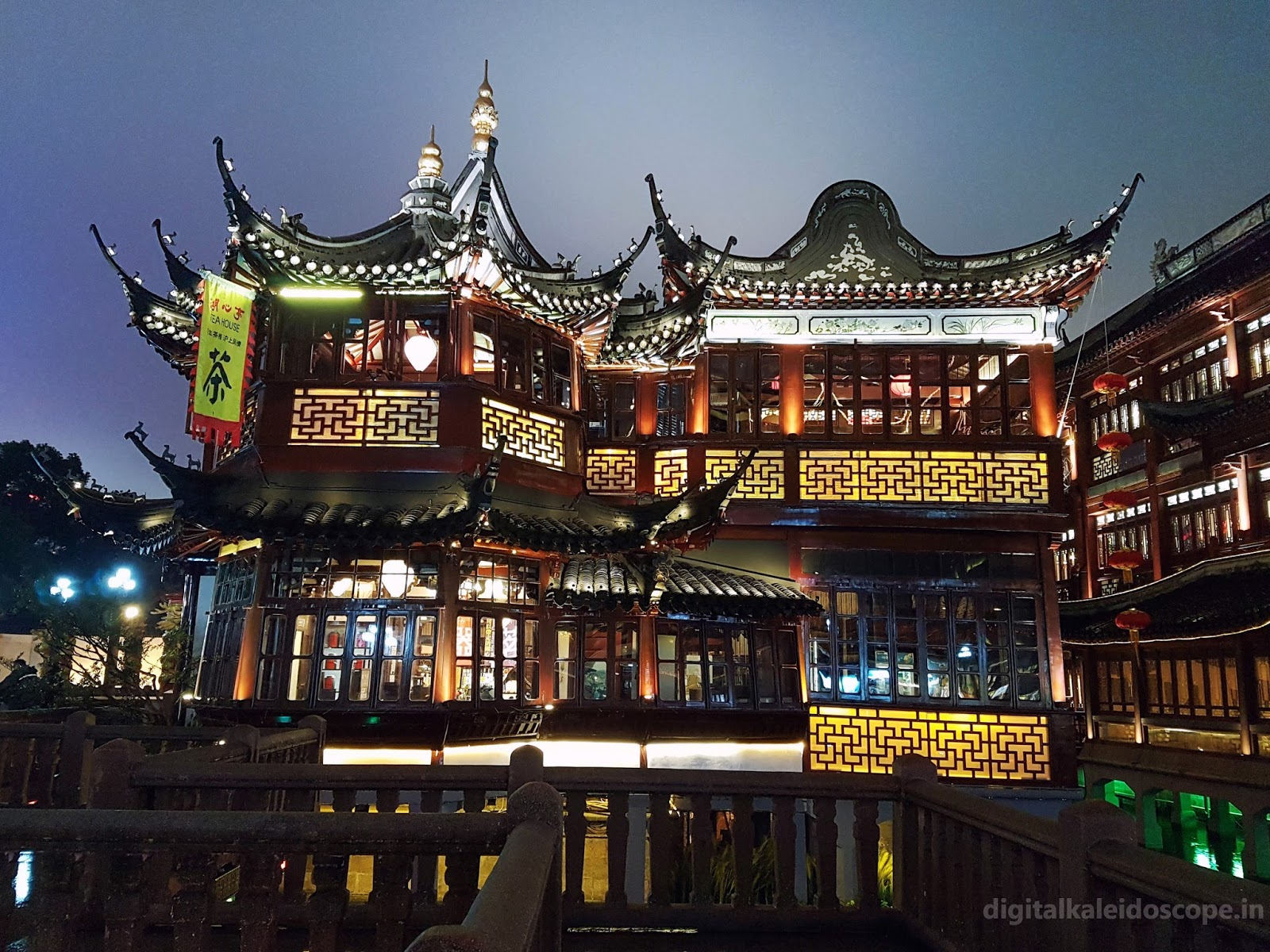 Huxinting Tea house in Yu Garden Shanghai