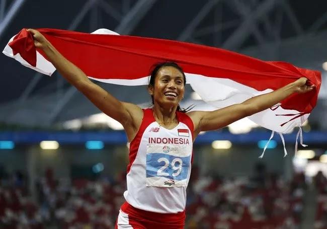 Maria Londa Atlet Lompat Jauh Indonesia
