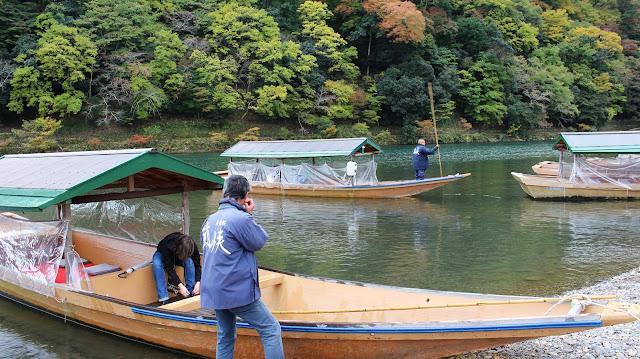 Balade bâteau Arashiyama